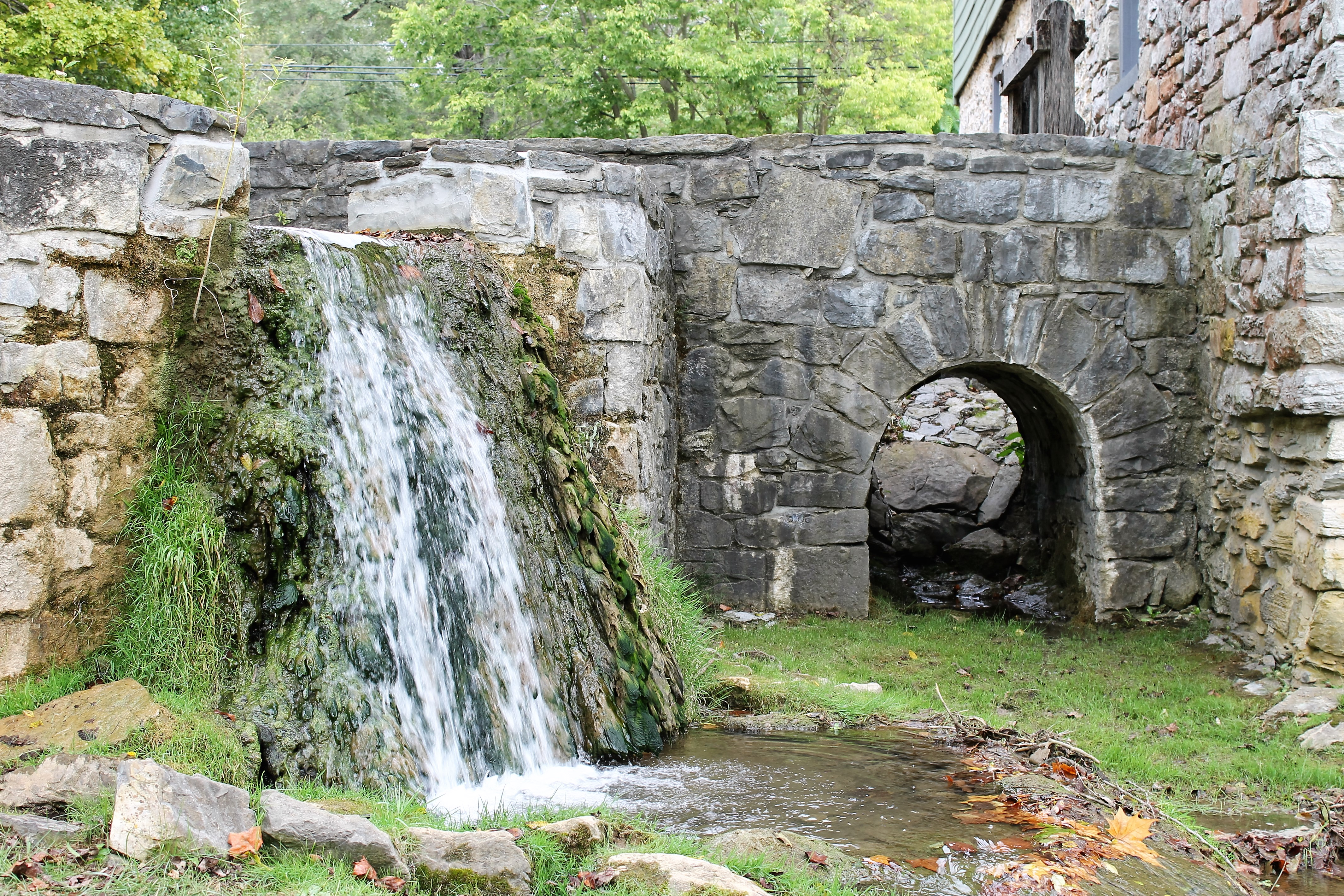 grist mill works