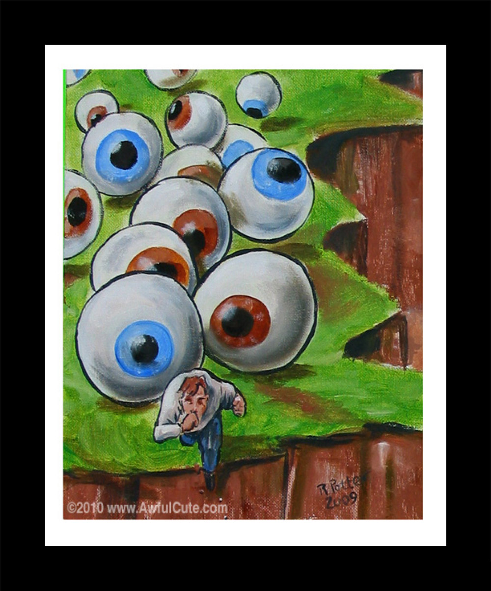 """Eyeball Avalanche"" by Rich Potter"