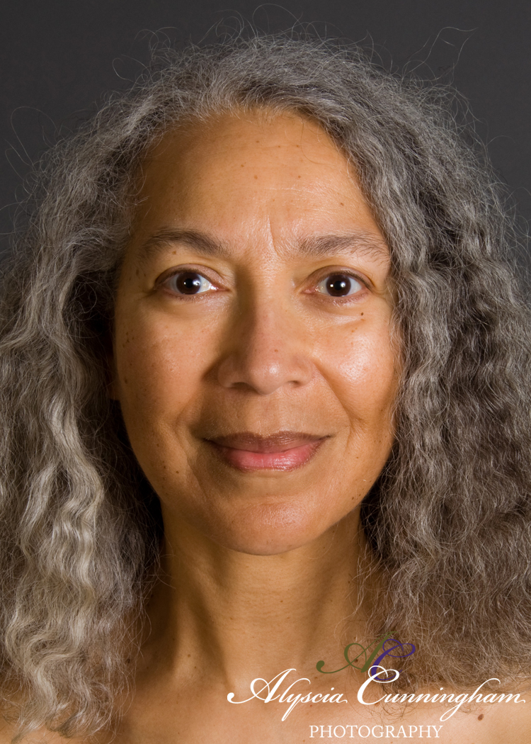 """Excerpt image of Vonzella (age 60) from my book """"Feminine Transitions."""