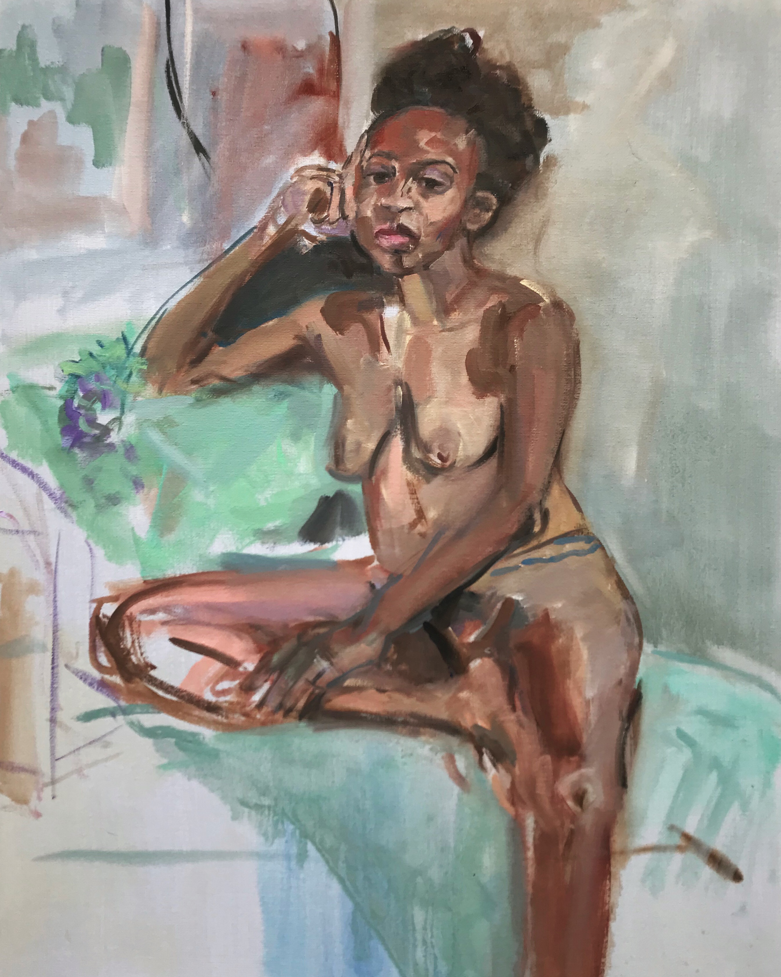 Figure Painting From Life.