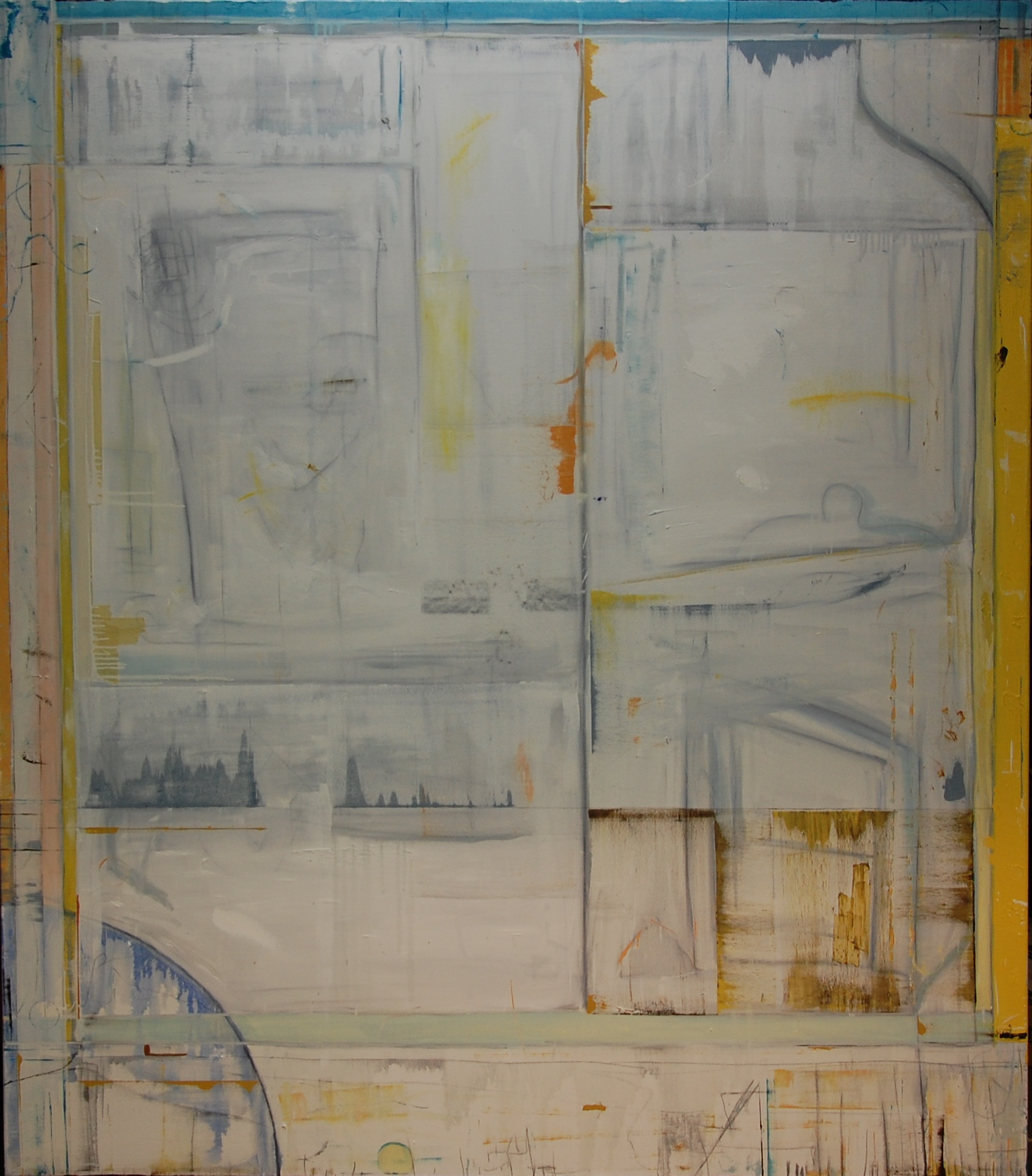 "Stephen Reichert, Untitled, 2014, oil on canvas, 75"" x 65"". Painting"