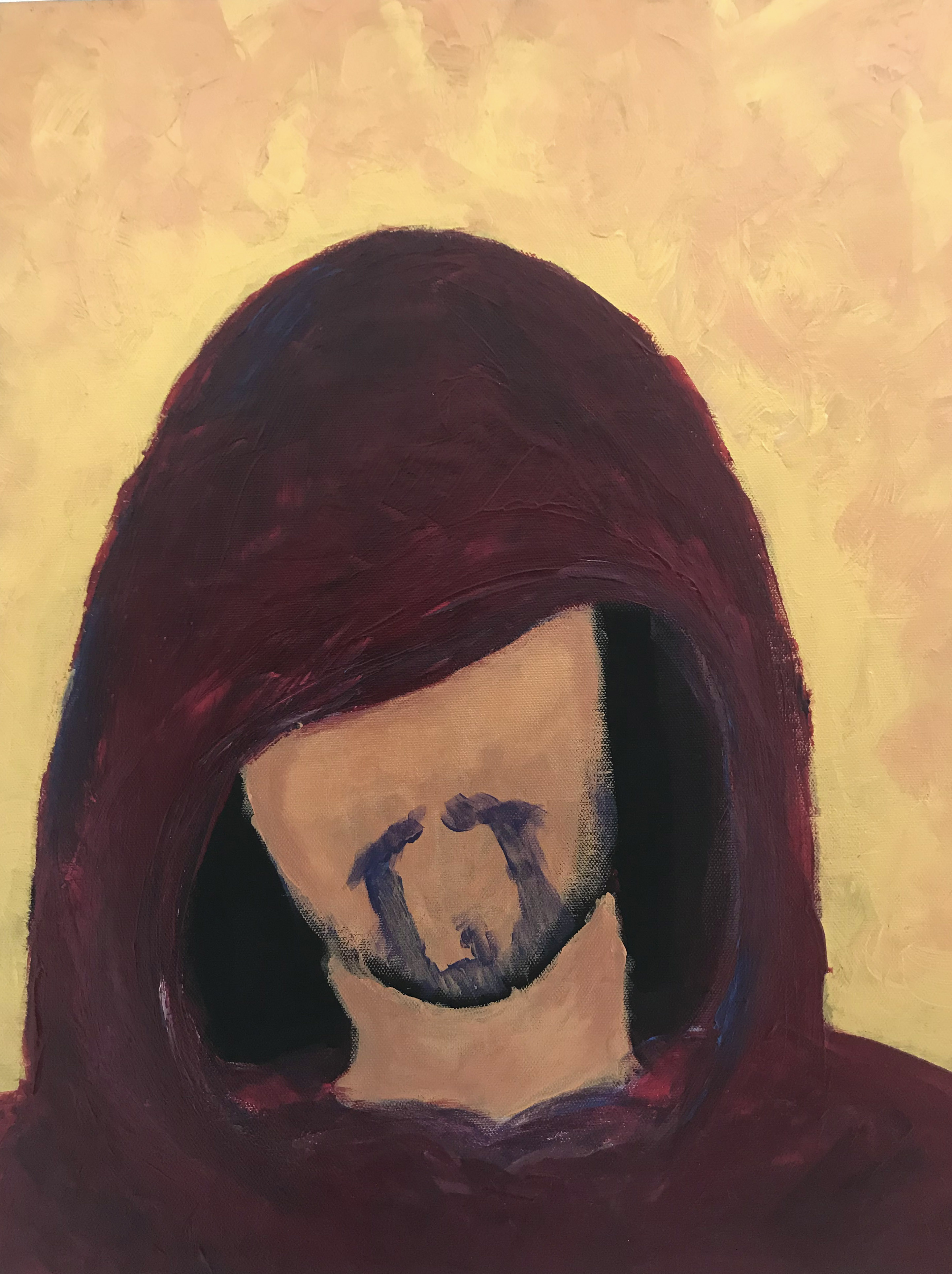 Picture of a hooded man