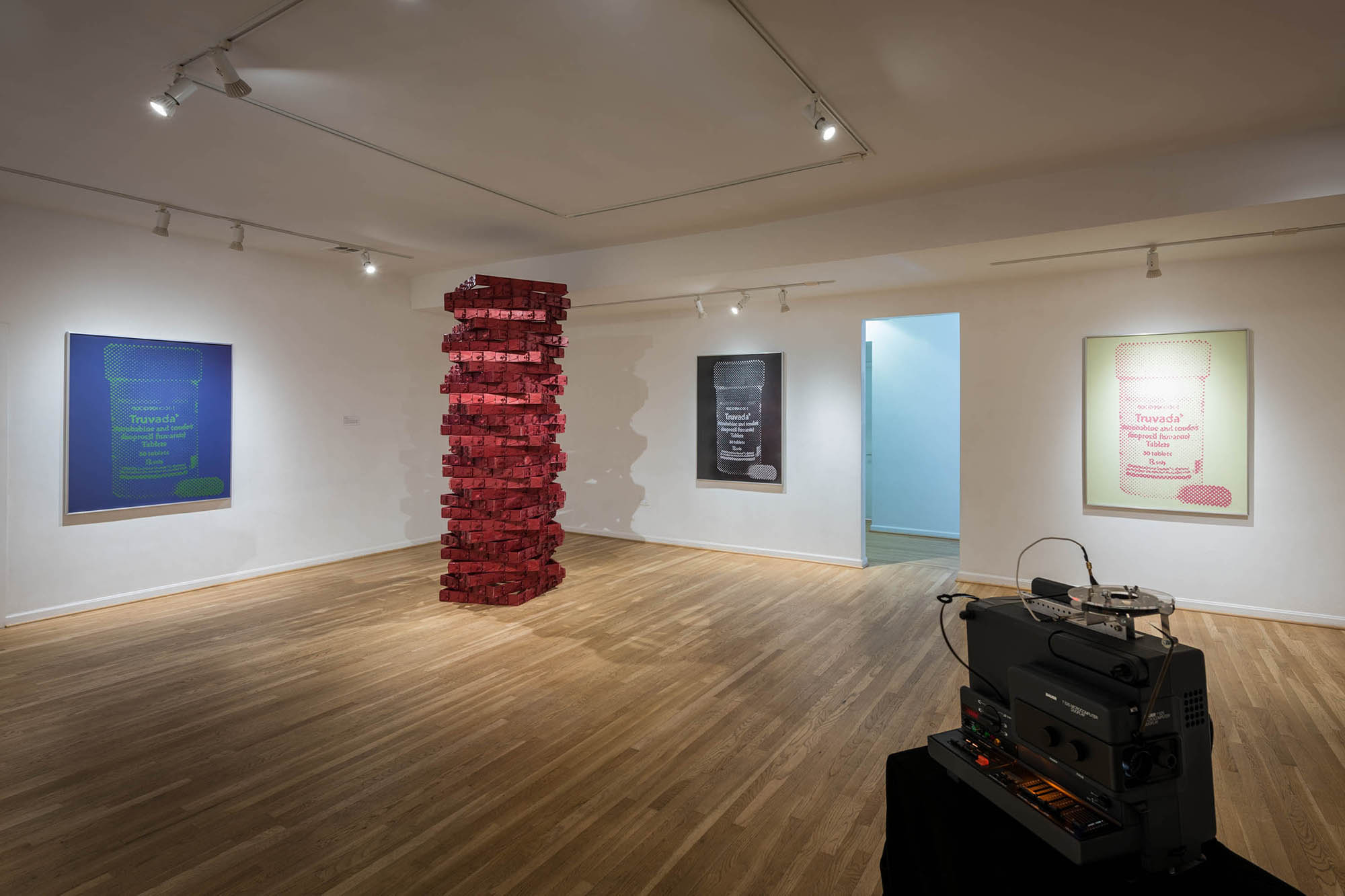 I Love To Hate You (Partial Installation View)
