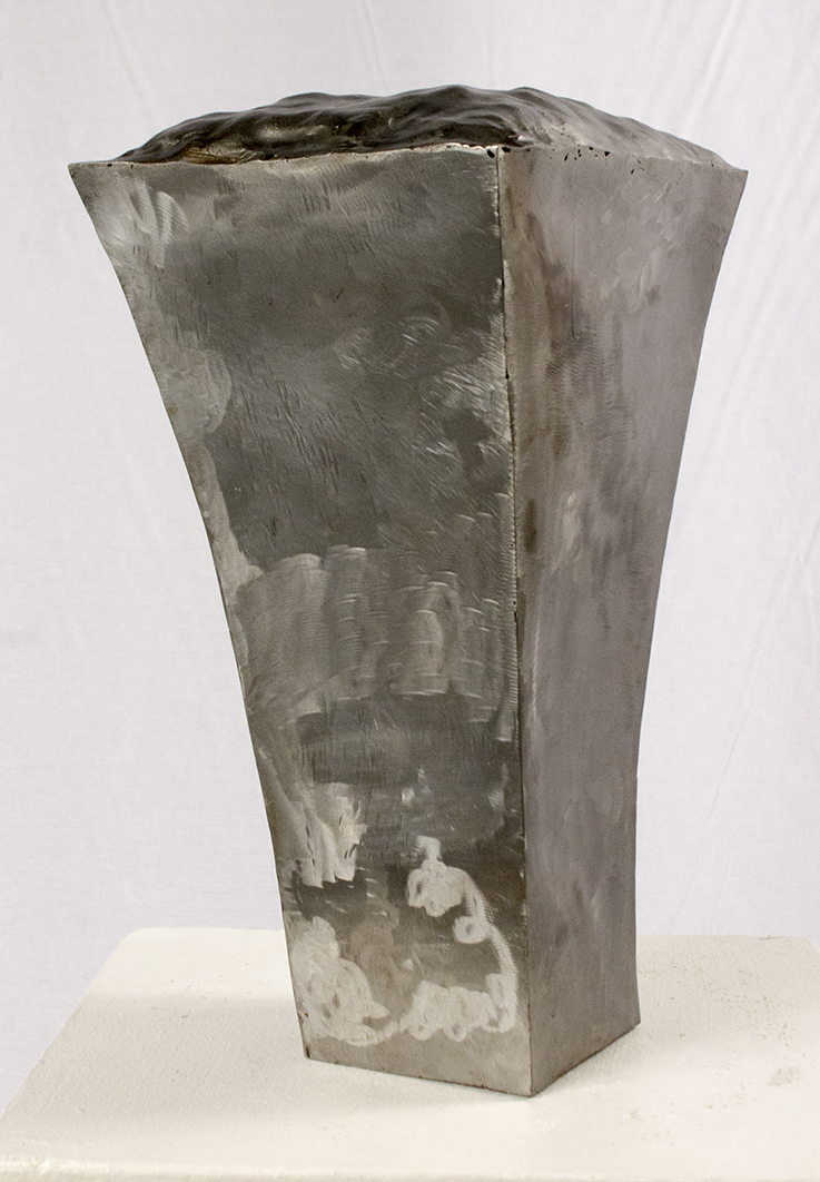 "Bramman Avery, Expansion Monument (2011), steel, 12"" H x 7.5"" W x 6.75"" D"