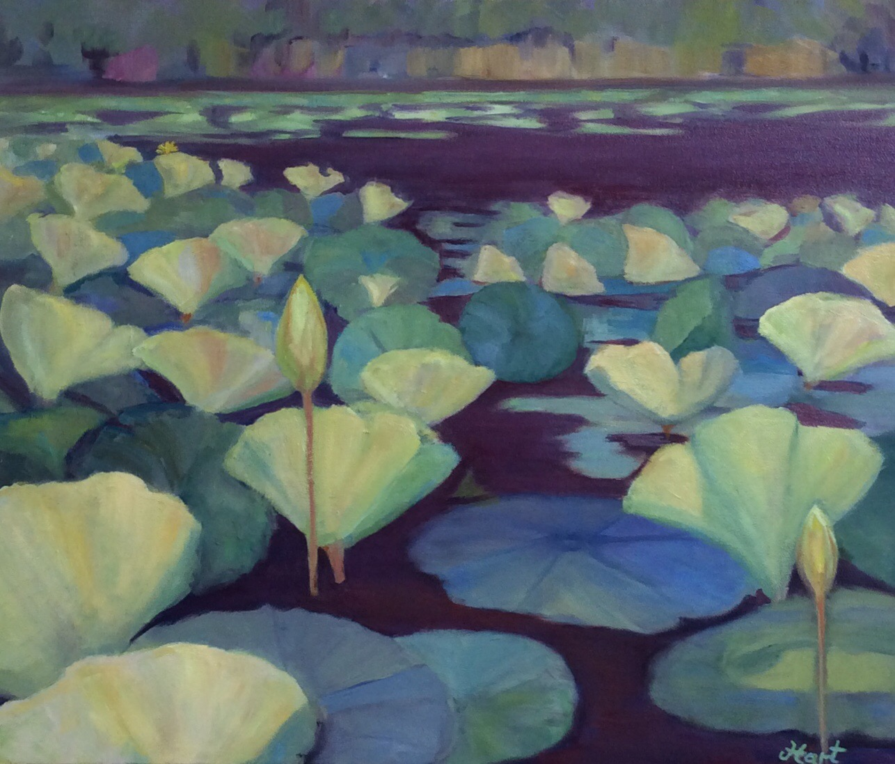 Painting inspired by Turners Creek, Kent County