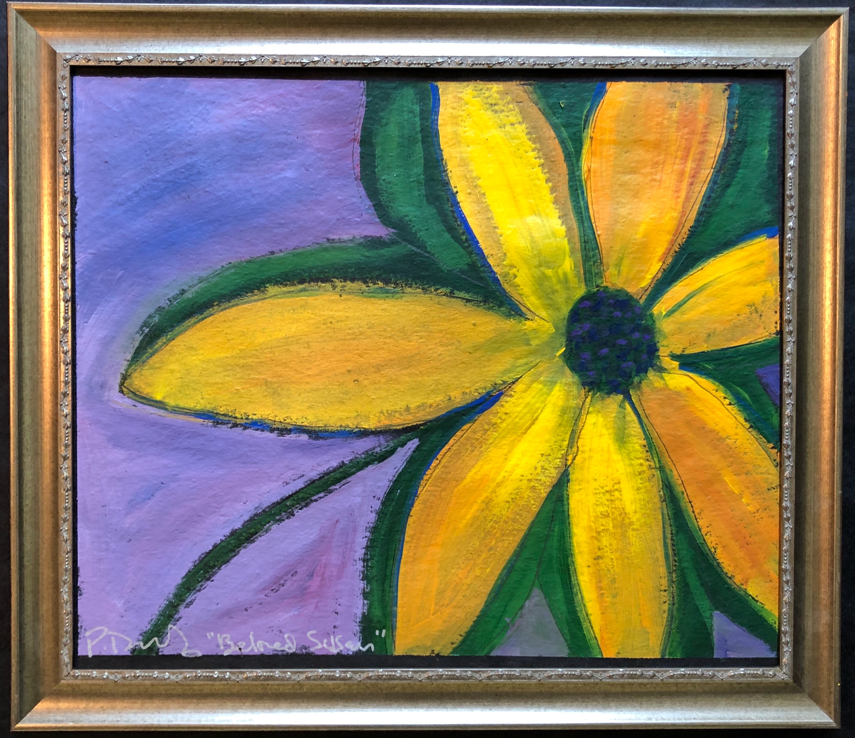 Original painting honoring the Maryland state flower