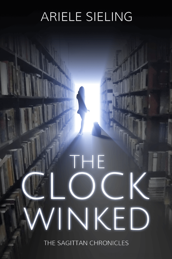 The book cover for The Clock Winked by Ariele Sieling