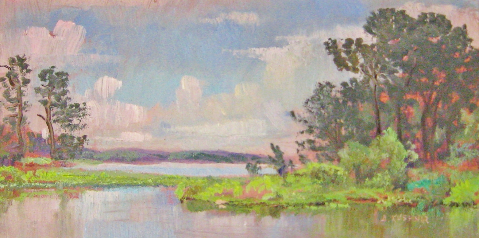 Kushnir_Chesapeake-Marshes_Study_4x8_Oil_on_Panel