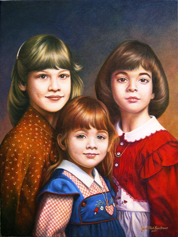Portrait of Aimmee, Carrie and Meredith