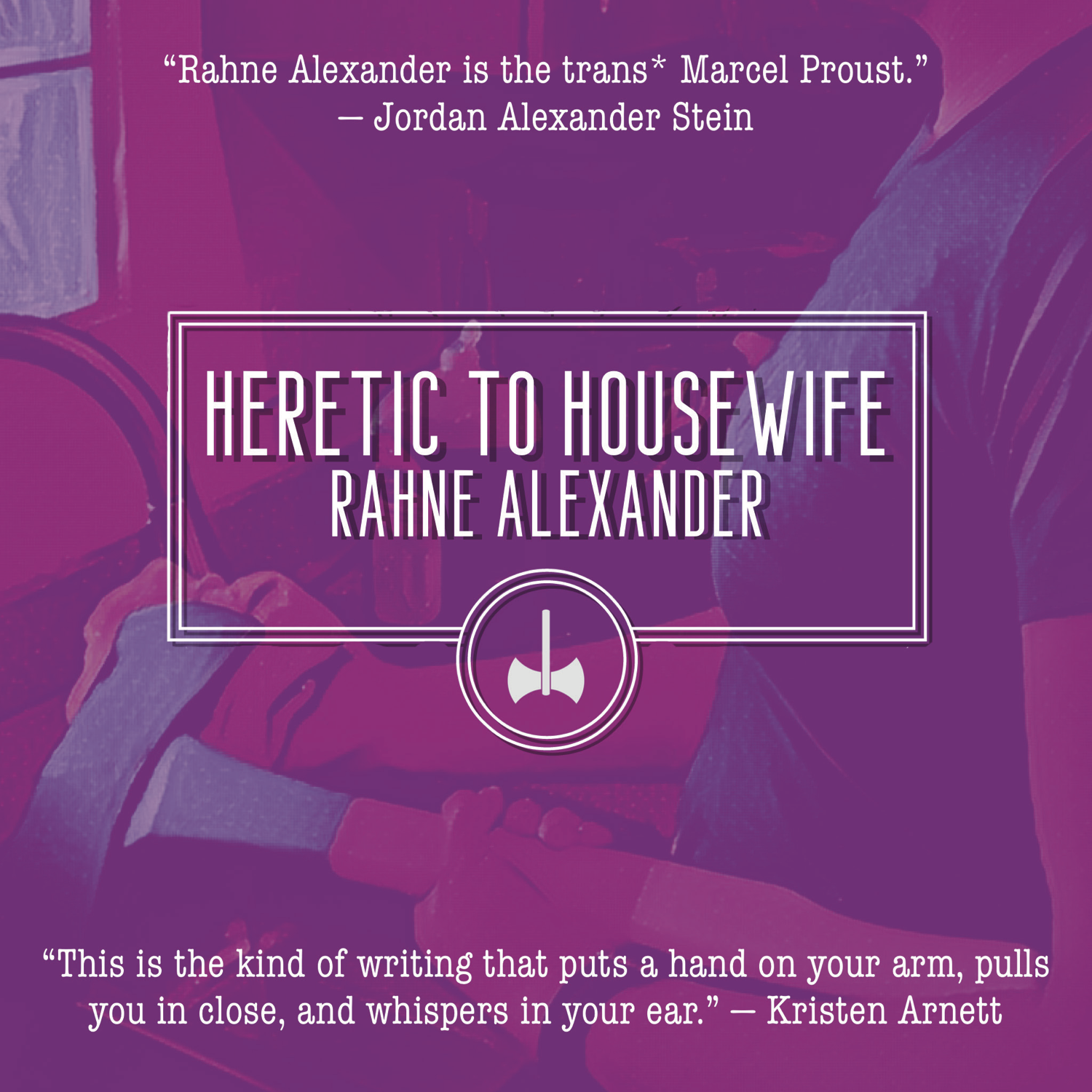 Cover art for Heretic to Housewife