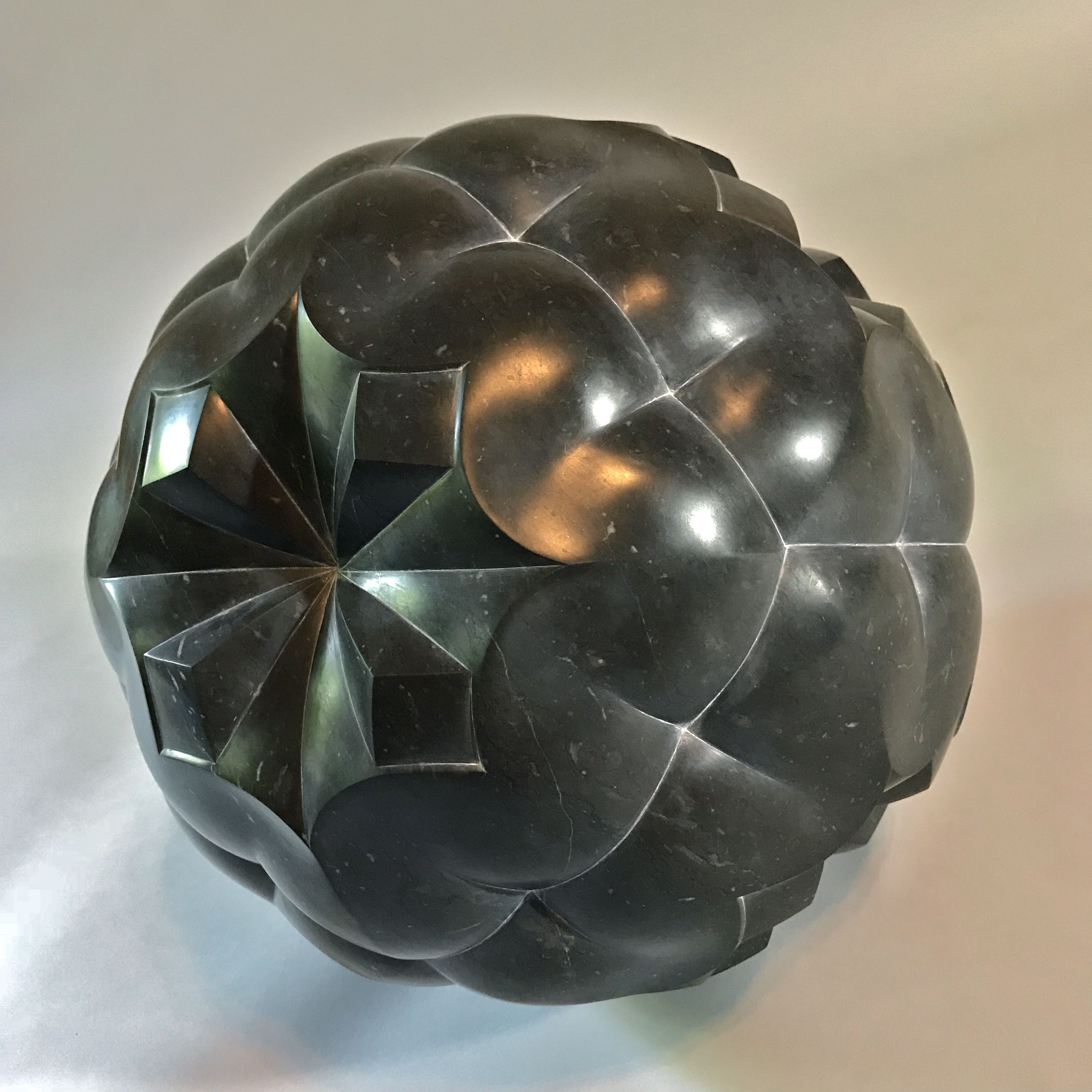 Spherical division of space