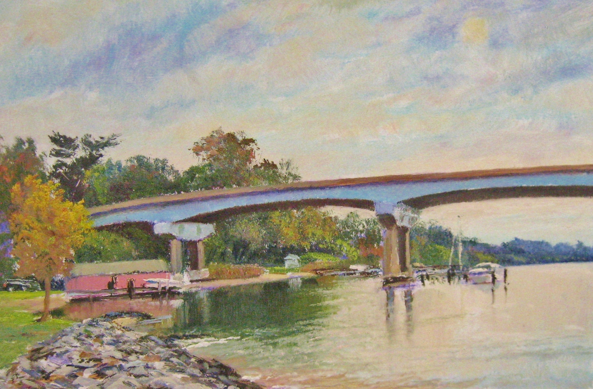 Kushnir_Severn_River_Bridge_8x12_oil