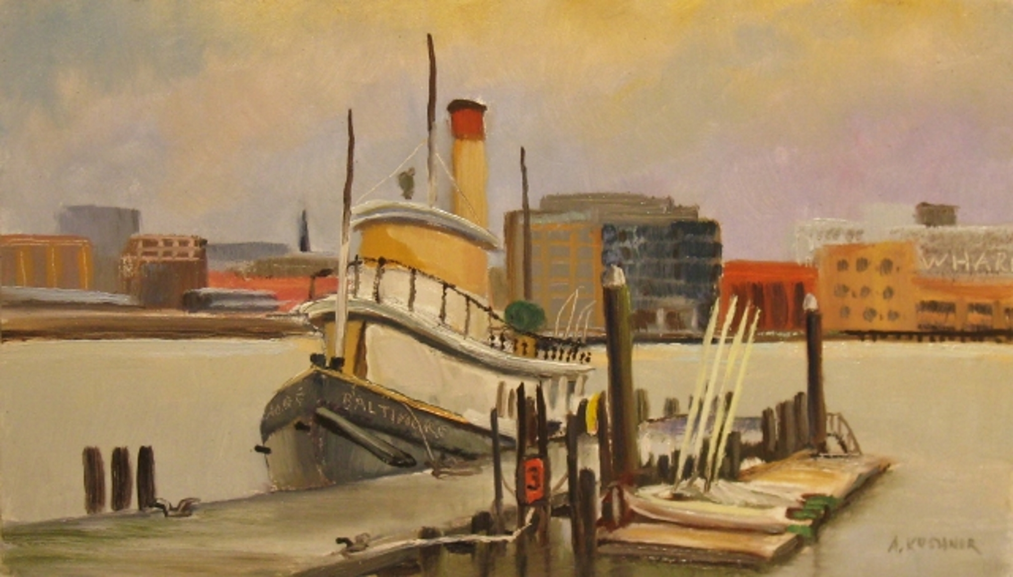 Kushnir_Tugboat_Baltimore_7x12_oil