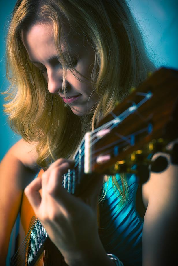 Guitarist Candice Mowbray