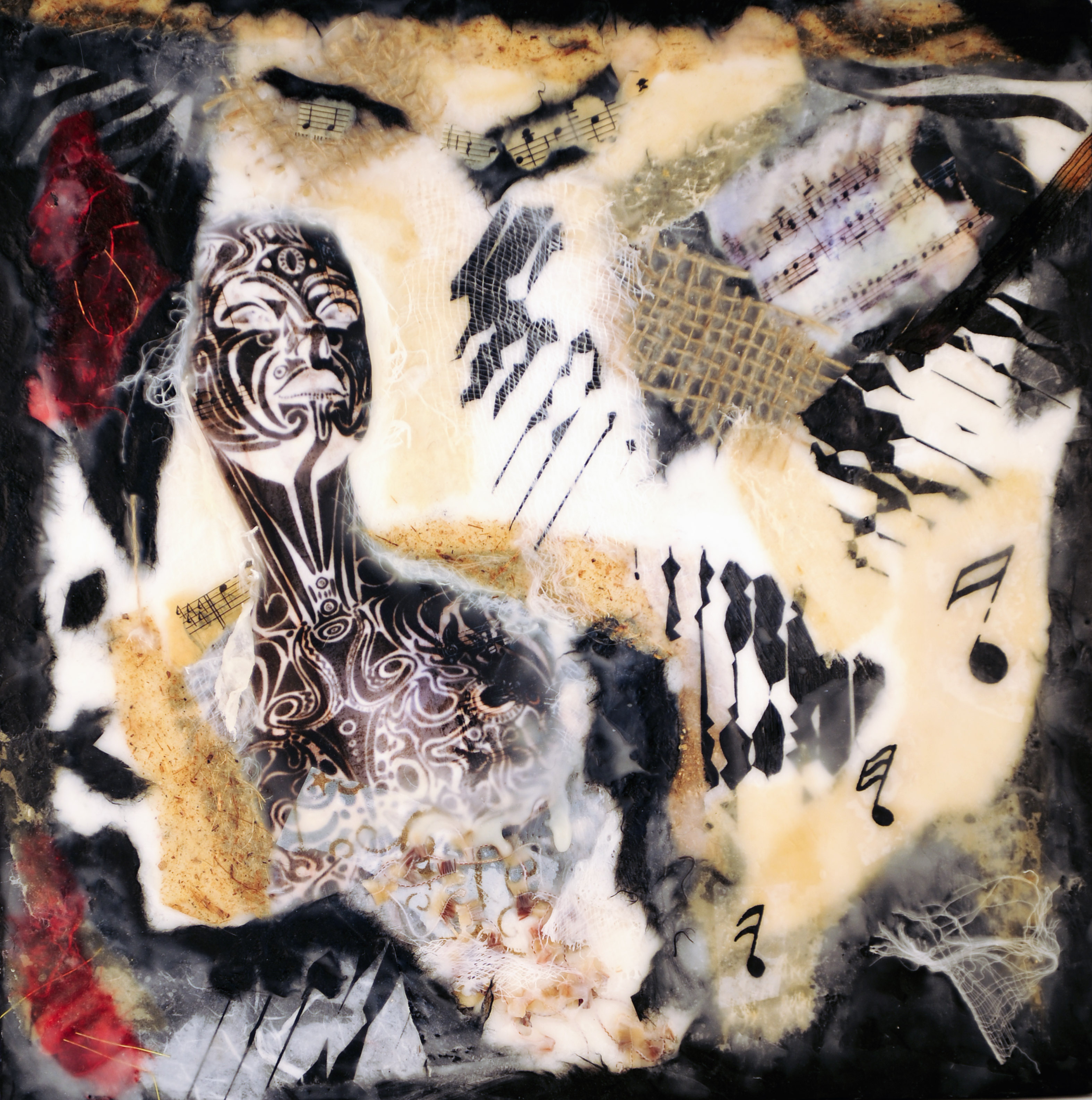 Encaustic Collage