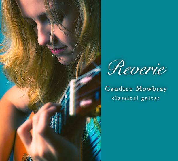 Reverie by Candice Mowbray CD Cover