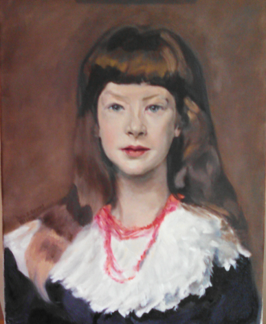 Study of Beatrice Townsend