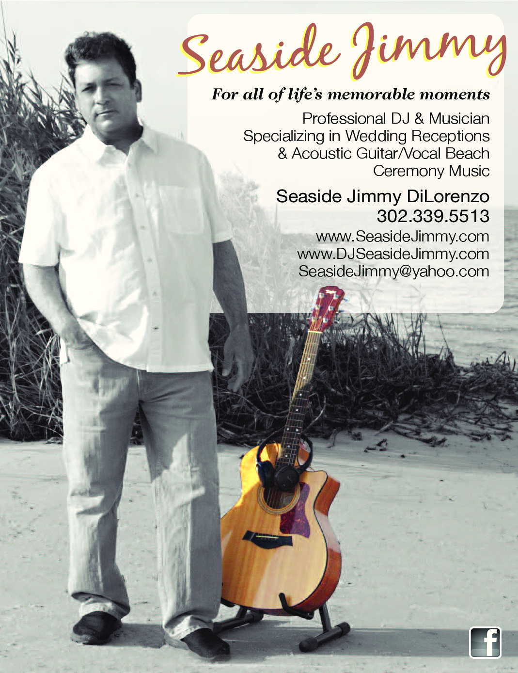 Seaside Jimmy DiLorenzo Poster