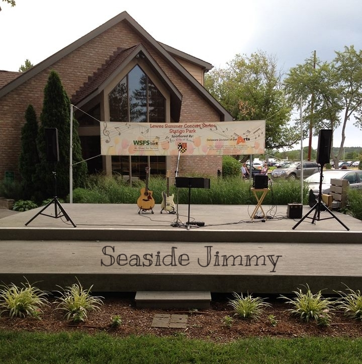 Seaside Jimmy - Stango Park Stage in Lewes, DE