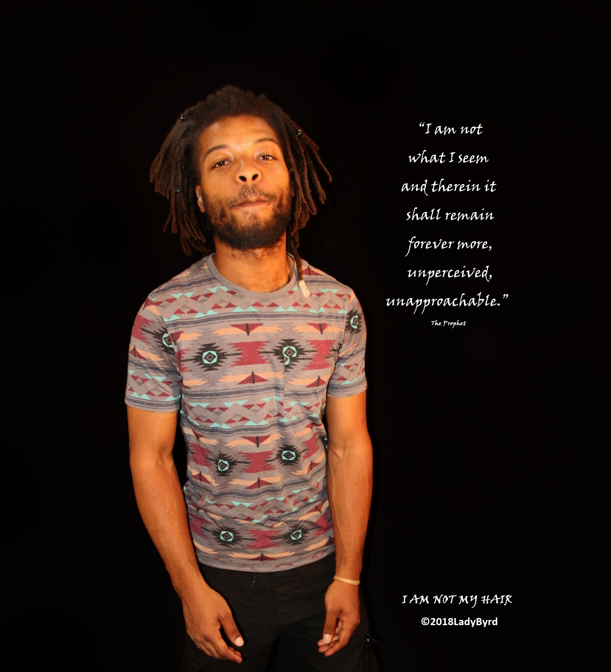 Perceptions part of the I AM NOT MY HAIR collection