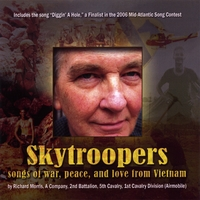 CD of songs written and sung by Richard Morris