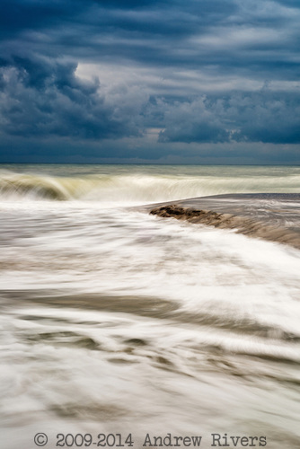 Ocracoke, Island, Atlantic, Ocean, Sand, Waves, Sky, erode, shift, water, salt, wind, blue tide, riptide, motion, foam swept away