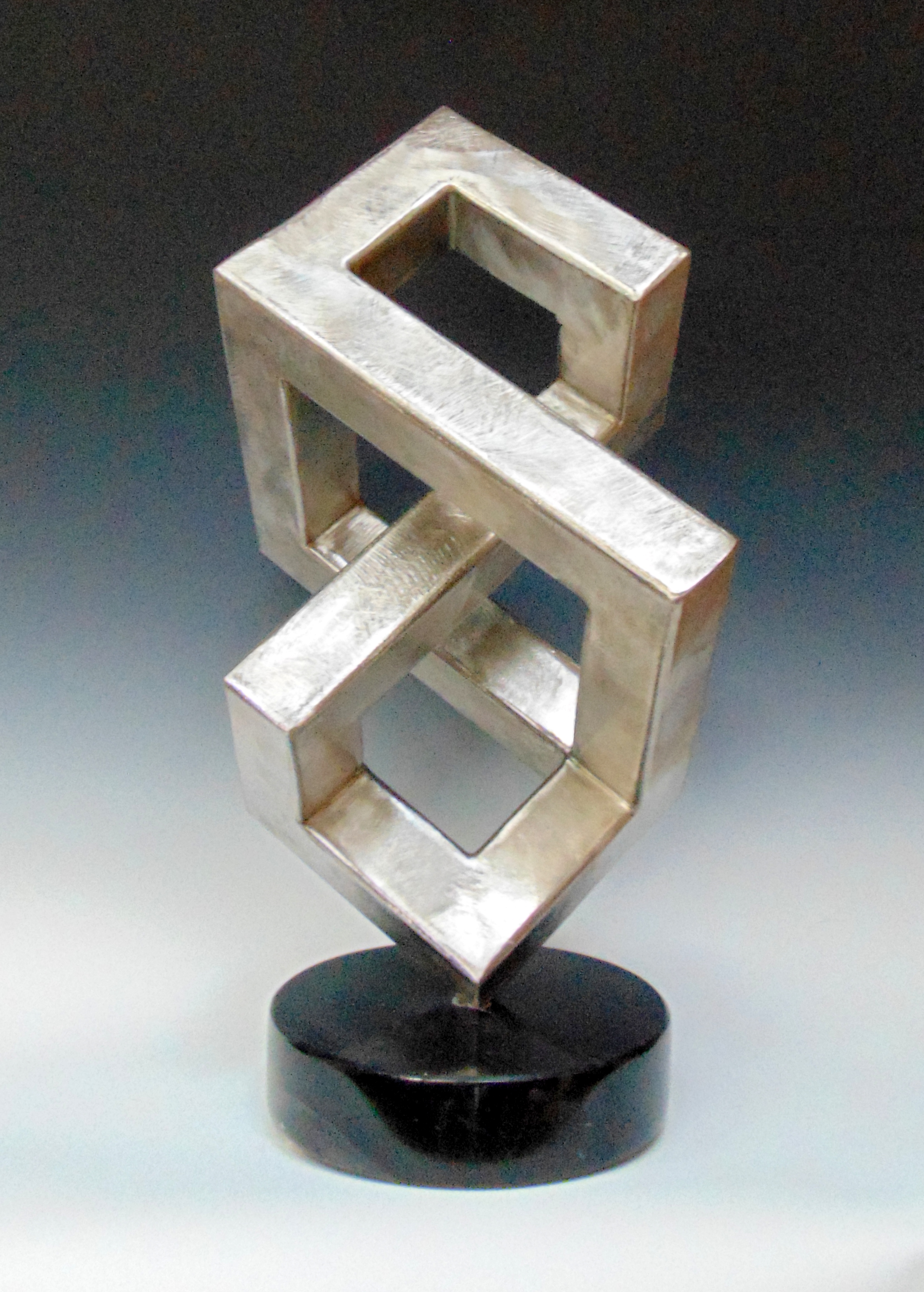 Sculpture Stainless Steel and Granite