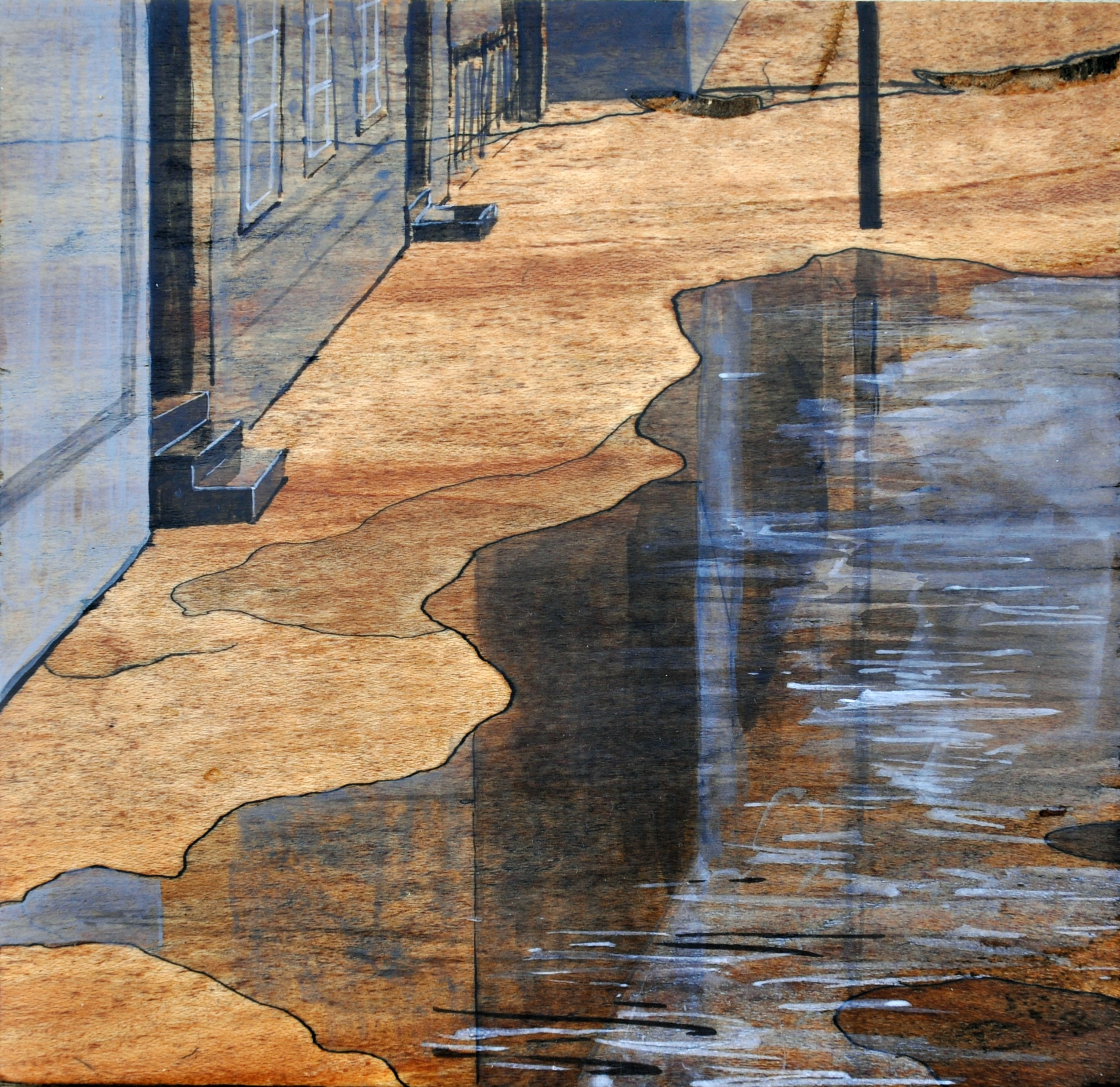 """Water in the Street"" by Leah Lewman"