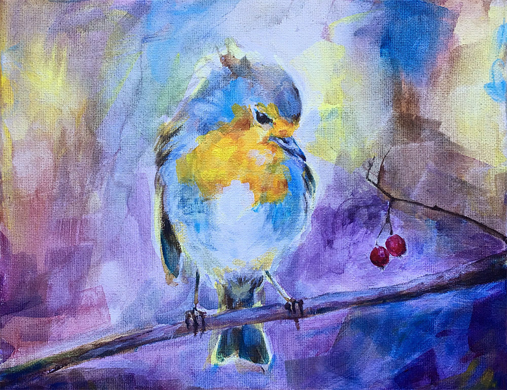 Blue Bird, Suzannah Sulek