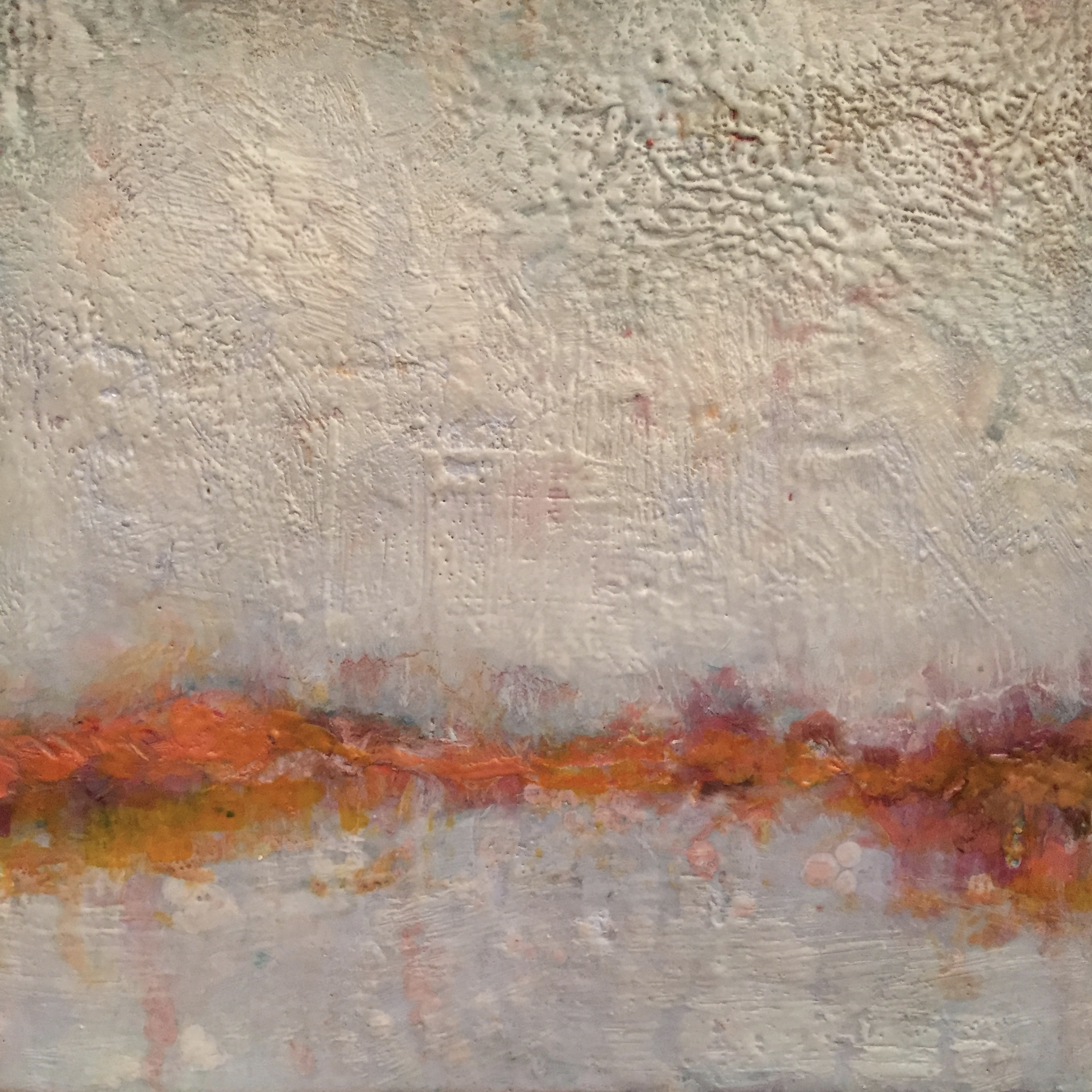 encaustic abstract landscape