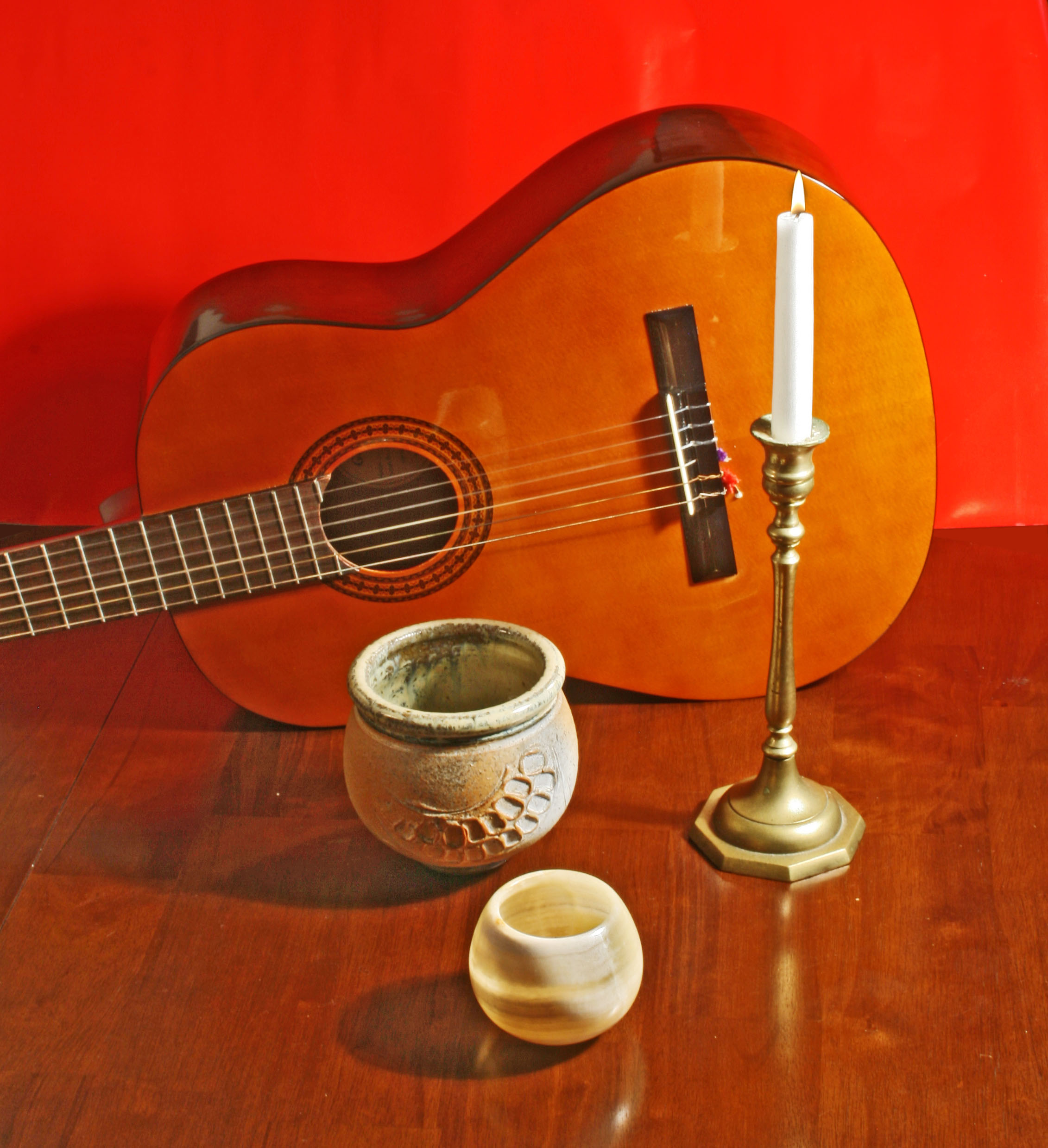 Guitar and Candle