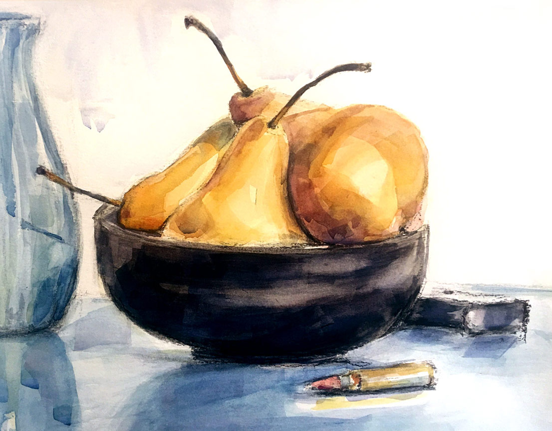 Pears with Bullet, Suzannah Sulek