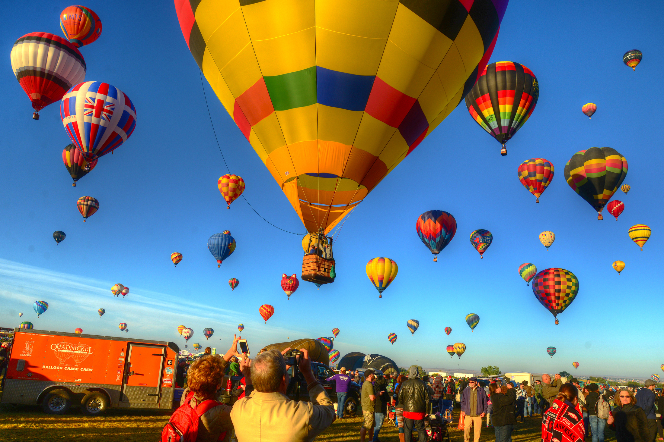 Hot Air Balloons...New Mexico