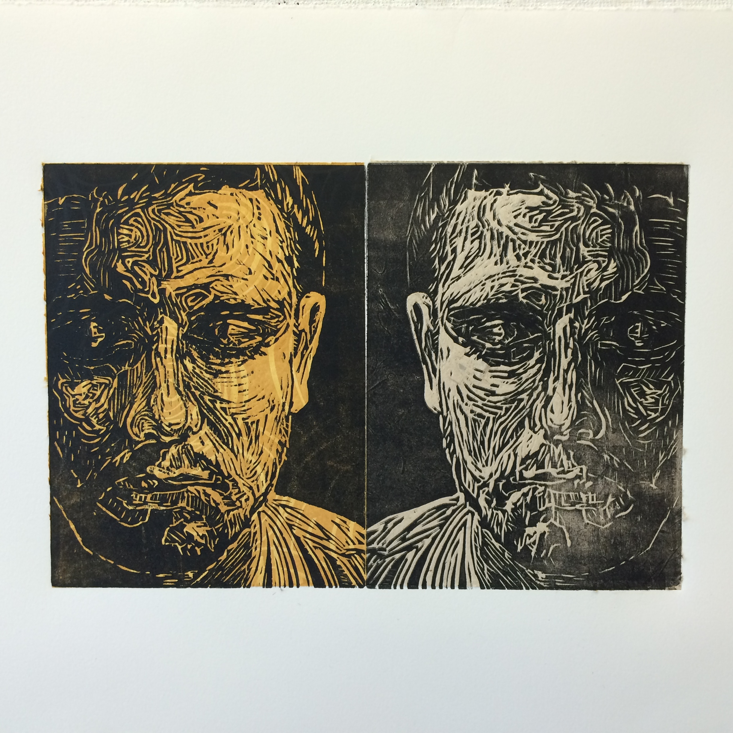 Woodcut print, Printmaking, Relief